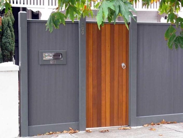 Cedar Lined Gate